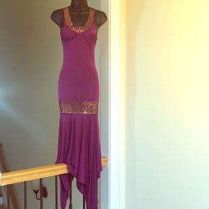 BEBE sz S knit stretch dress
